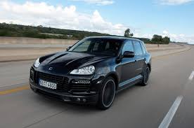 porsche suv turbo techart porsche cayenne turbo closes in on 200 mph at nardo