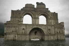 400 year old church re emerges from beneath mexican reservoir
