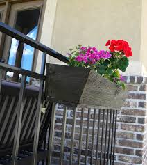 Balcony Planter Box by Thrifty And Chic Diy Projects And Home Decor
