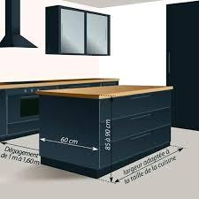 dimension ilot cuisine meuble pour ilot central cuisine dimension ilot centrale cuisine