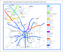 Pune India Map by Map Rainbow Brts