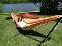 choosing the brazilian hammock double with universal stand buy