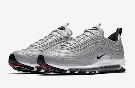 nike air silver nike goes all out with 3m with the air max 97 reflect silver