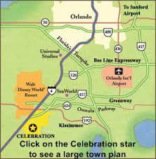 map usa orlando celebration near orlando florida usa homes for sale and rent