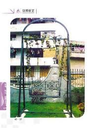 Wrought Iron Garden Decor Wrought Iron Swing Forged Trapeze Garden Decor Page 1 Products