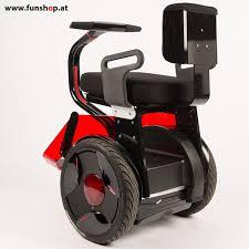 rollstuhl design nino rollstuhl schwarz rot funshop kingsong evolve sxt ninebot
