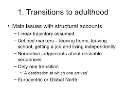 education and transformations in transition s to adulthood in ghana