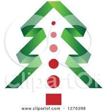 green christmas tree outline clipart china cps