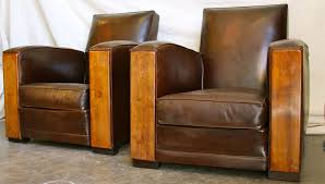 Vintage Leather Recliner Furniture Vintage Leather Club Chair For Minimalist Family Room