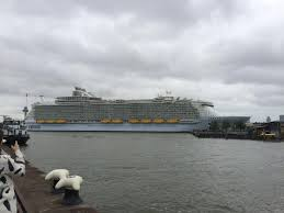 i watched ms harmony of the seas largest passenger ship in the