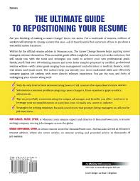 Resume Job Gaps by The Career Change Resume Karen Hofferber Kim Isaacs