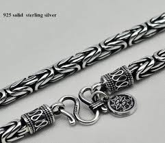 solid sterling silver necklace images 2018 925 sterling silver sea rover chain men necklace men jewelry jpg