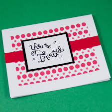 cardmaking idea invitation card set tutorial greeting card