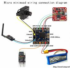 wire diagram drone dji phantom wiring diagram qav zmr assembly