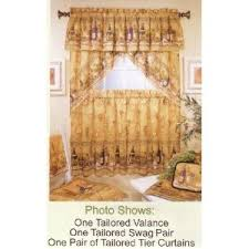 Tuscany Kitchen Curtains by Napa Valley Curtains My Napa Valley Wine Kitchen Pinterest