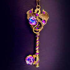 dragon key necklace images Shop steampunk dragon jewelry on wanelo jpg