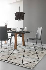 Modern Extendable Dining Table by Levante Extendable Dining Table Calligaris
