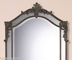 Large Arched Wall Mirror Large Tuscan French Arched Wall Mirror Arch Spanish Colonial