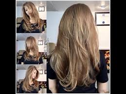 how to cut long hair to get volume at the crown how i cut my hair at home in long layers long layered haircut