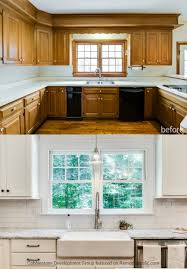 remodelaholic before u0026 after from dated 1980 u0027s renovation to