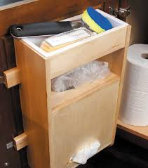 kitchen cabinet organization waypoint living spaces plastic bag