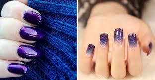 purple nail designs with purple nail at 2017 nail