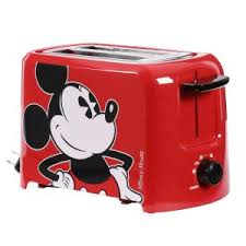 Colorful Toasters Disney 2 Slice Red Toaster 4049 The Home Depot