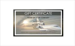travel gift certificates 12 travel gift certificate templates free sle exle