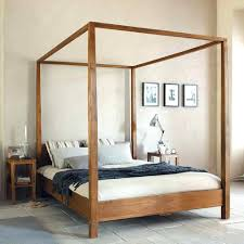 Beds Sets Cheap Light Wood Canopy Bedroom Sets En Cal King Bed Queen Size Frame