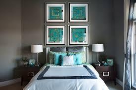 peinture chambre gris et bleu bleu turquoise et gris en 30 idées de peinture et décoration