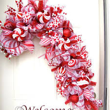 White Deco Mesh Best Deco Mesh Christmas Wreaths Products On Wanelo