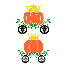 pumpkin carriage pumpkin carriage cuttable design