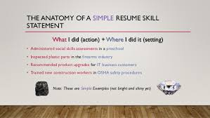 marketing transferable skills on your resume