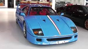 blue f40 unique blue f40