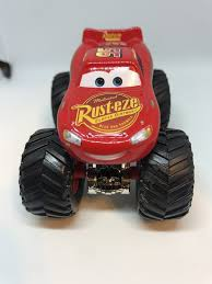 disney cars 1 55 custom monster truck lightning mcqueen