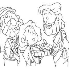 printable coloring pages of jesus feeding the 5000 archives