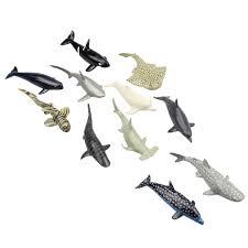 aliexpress com buy pvc small sea animals shark and whale model