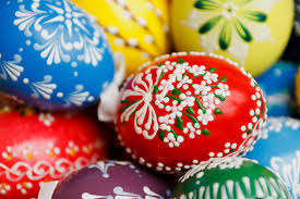easter eggs decoration decorated easter eggs free stock photo domain pictures