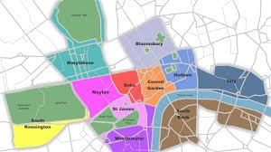 Map Of London England by London Area Map Map Of London Area England