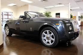 rolls royce phantom rear used 2009 rolls royce phantom drophead coupe stock p3009 ultra