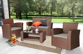 Wayfair Garden Furniture Zipcode Design Charmain 4 Piece Deep Seating Group With Cushion