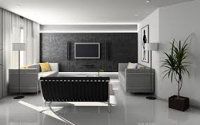 wallpaper for home interiors modern home interior wallpaper 1366x768 id 19411