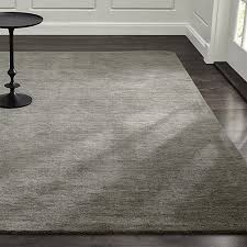 Black Large Rug Baxter Grey Wool Rug 10 X 14 Lots Of Colors Available 1 499 Big