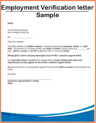 letter proof of employment proof of employment letter sample