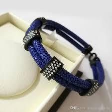 luxury man bracelet images Beichong luxury unique rose gold white cz bracelet genuine 5mm jpg