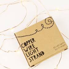 Battery Operated Mini Led String Lights by 30 Led Battery Powered Wire String Lights By Lisa Angel Homeware