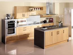 design small kitchen brown solid wood cabinet small wall mount