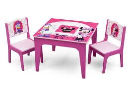 Table And Chairs Set Minnie Mouse Deluxe Table U0026 Chair Set With Storage Delta