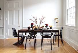 Contemporary Black Dining Chairs Modern Mismatched Dining Chairs Dans Design Magz Organizing