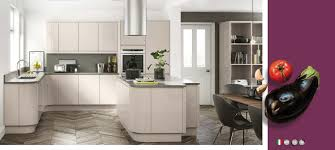 lucente cashmere gloss kitchens on trend kitchen collection